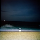 """Bronte beach at night, Sydney, Australia, January 2010"" by Nicola Dracoulis"