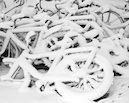 """Bikes on Snow"" by Soren Froberg"