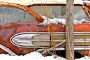 """Rusted Winter Car 3"" by Wayne Chinnock"