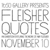 Amy Fleisher Art Exhibition