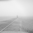 """Playa del Rey in Fog"" by Liz Moser"