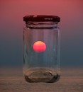 """Sunset in a Jar"" by Shifra Levyathan"