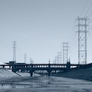 """L.A. River Series, #25"" by Cathy Immordino"