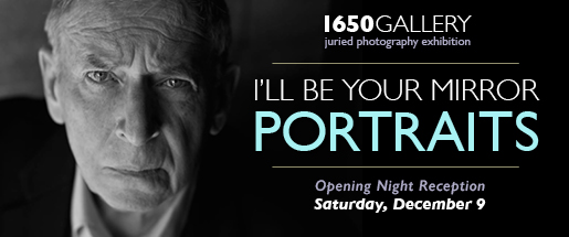 I'll Be Your Mirror | Portrait Photography Exhibition