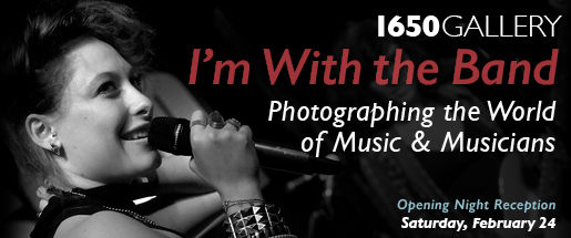 I'm With The Band Photography Exhibition